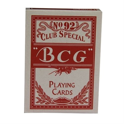 Picture of Playing cards deck std -BCG / Red