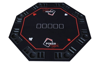 Picture of 14201-Octagon poker table top - 8 players