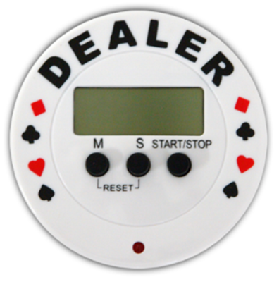 """Picture of 10502-TIMER """"DEALER BUTTON"""""""
